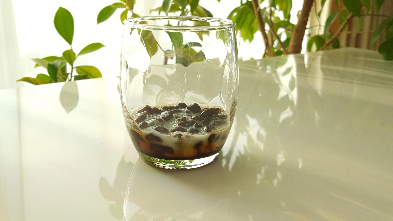 黒糖ミルクタピオカレシピ