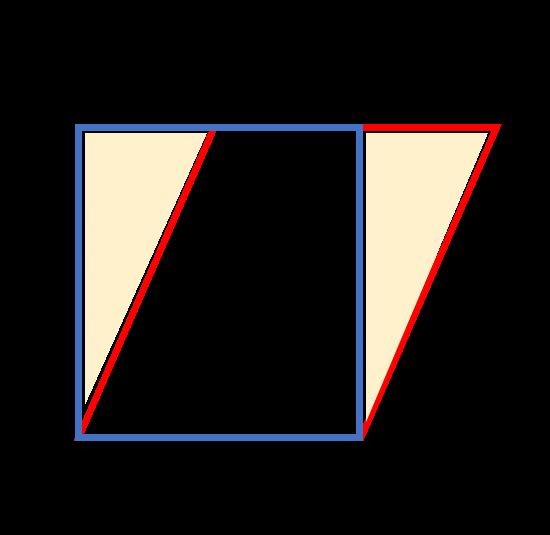 平行四辺形の面積の求め方